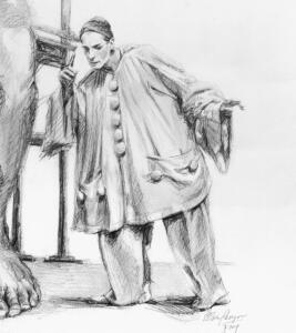 detail: 'The most amiable giant' (De beminnelijkste reus)