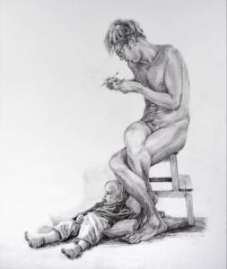 Portrait of a child psychiatrist as an object of lust (Portret van een kinderpsychiater als lustobject),