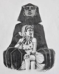 Elisa Pesapane X Marlies Dekkers SS2021: Portrait Cleopatra