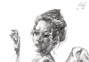 Detail of: Danse Macabre