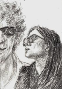 from Tara, story by Arnon Grunberg & drawings by Elisa Pesapane