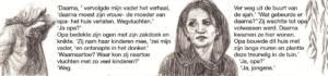 Detai of  'En toen waren zij aan de beurt'/ 'And then it was their turn', =