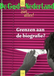 literary satirical magazine De God van Nederland #16, with contribution Elisa Pesapane