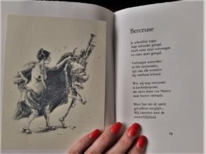 'Berceuse'- PARALLELLEN: Jean Pierre Rawie & Elisa Pesapane (2017), de Carbolineum Pers. Poetry by Jean Pierre Rawie & drawings by Elisa Pesapane on love & death