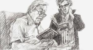 Author Arnon Grunberg & philospher Peter Sloterdijk