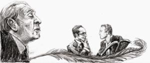 Authors Jorge Luis Borges, Italo Calvino & Pieter Steinz