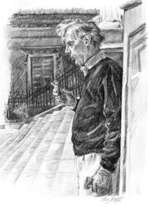Jacob's ladder (portrait of the artists' father)