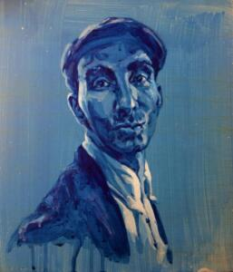 Aziz Bekkaoui, 35x30 cm